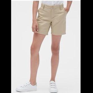 2/$15! Gap Uniform Standard Girls Tan Short Sz 10